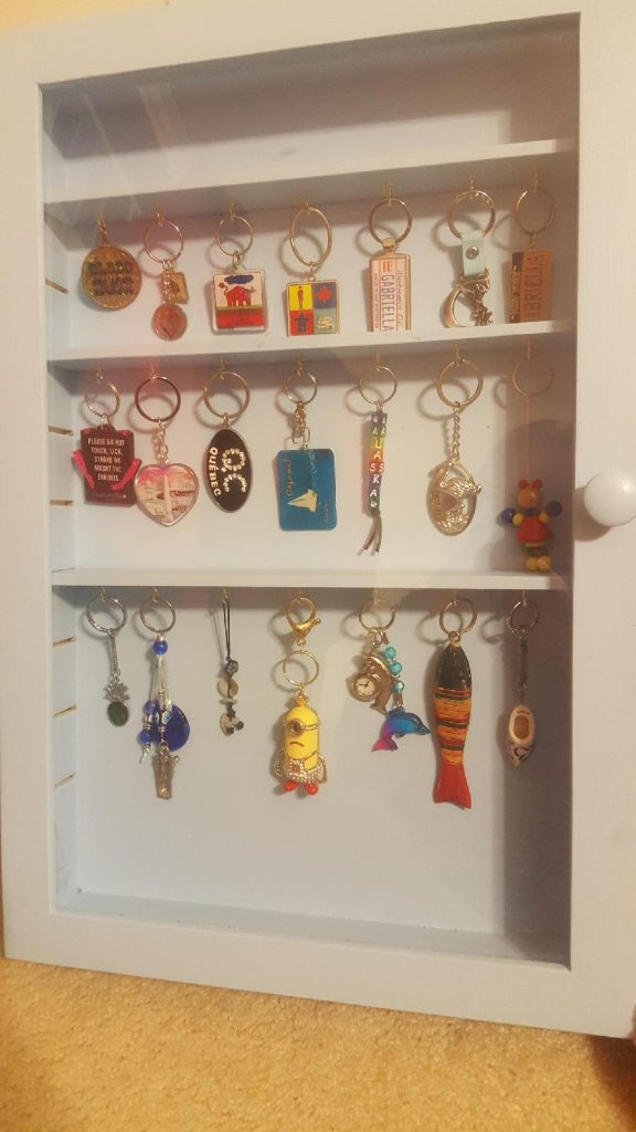 Finished Keychain cabinet