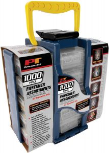 1000 piece fastener set, from Amazon
